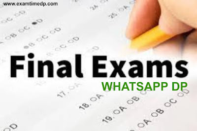 final-exam-whatsapp-dp, exam-dp