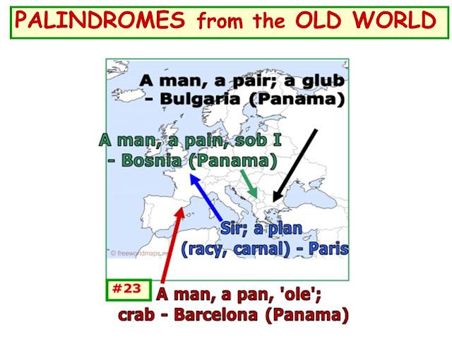 wordplay; map; paliindrome; Europe; Old World; GIorgio Coniglio