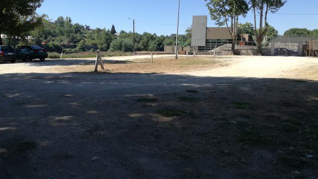 Zona do Parque estacionamento