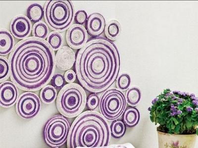 Inspirasi Hiasan Dinding  Dari Kertas Yang Membuat Anda  Kerasan Di Dalam Kamar 12