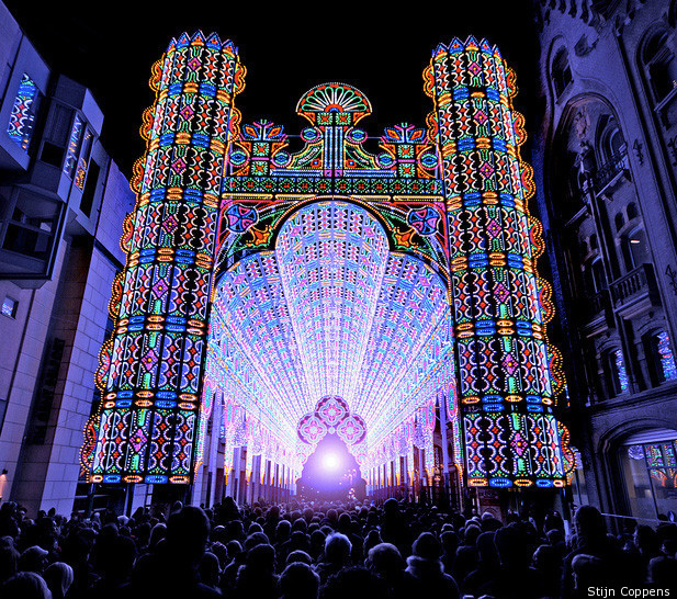 And light shows are not always videos projected onto buildings. Recently  Ghent, in Belgium, made headlines around the world with a massive 55,000  LED ...