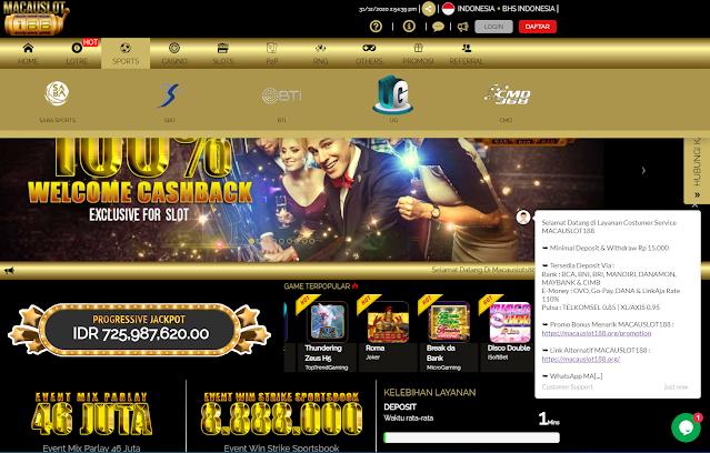 Macauslot188 Agen Bola M88 Dan Taruhan Mix Parlay Profile Full Press Coverage Forum