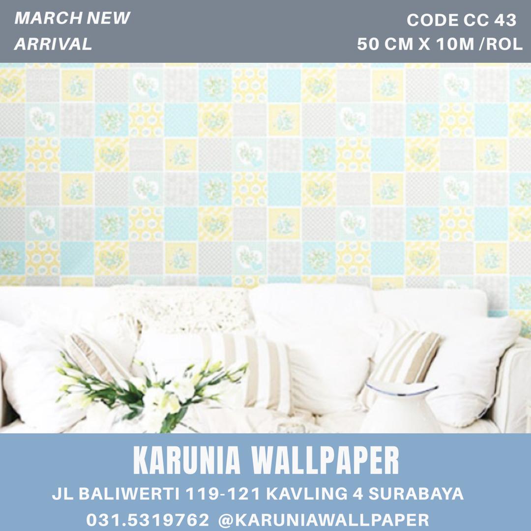 jual dekorasi dinding wallpaper surabaya