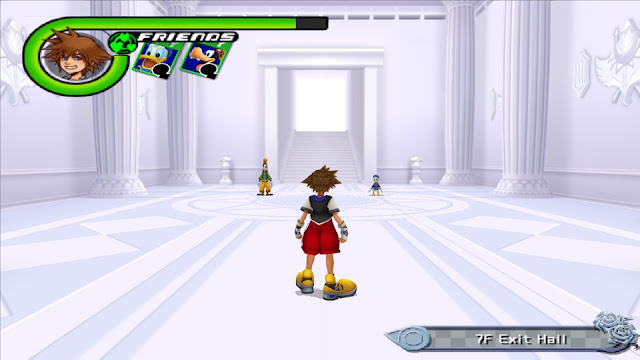 Kingdom Hearts Chain of Memories PS2 GAME ISO Screenshot 1