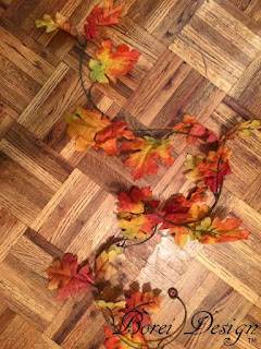 leaf-garland-fall-dollar-tree-store-craft-supplies-wreath-tutorial-attach