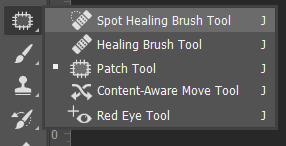 Healing brush, Red Eye Tool dan Patch Toolbox Adobe Photoshop