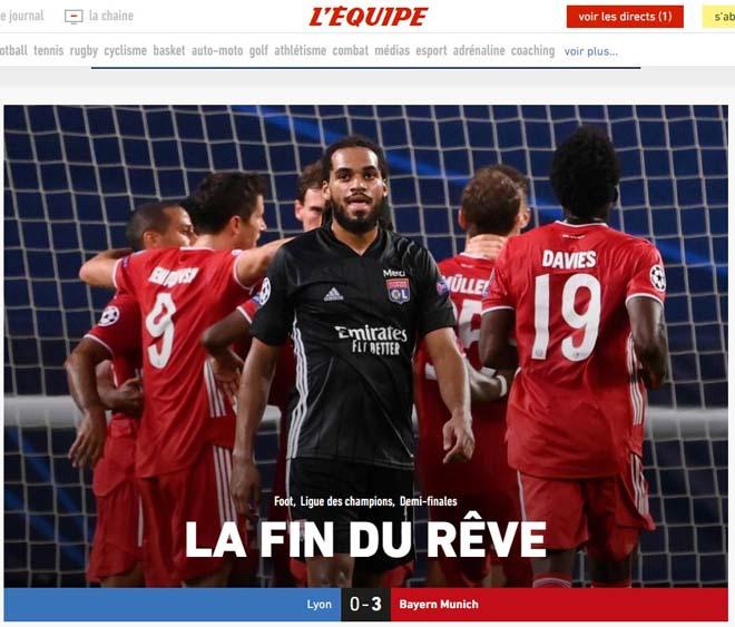 Bayern hạ Lyon vào chung kết Cúp C1: Báo chí vẫn tiếc cho Lewandowski 3