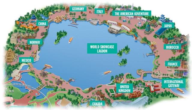 Disney Epcot - World Showcase