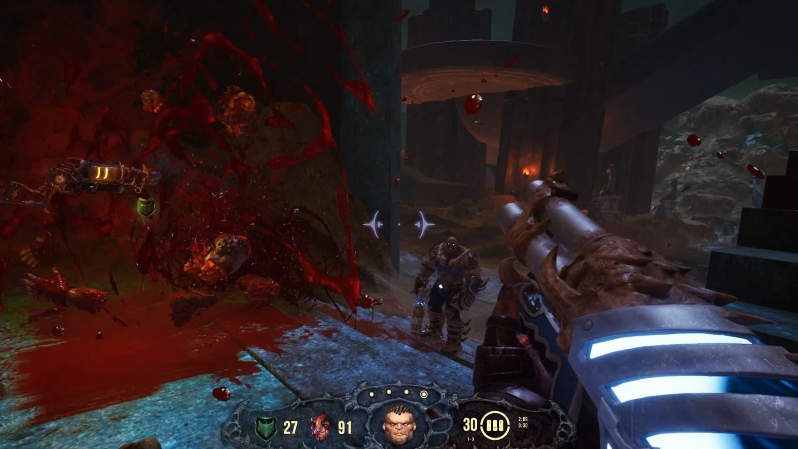 Рецензия на игру Hellbound - кривого и хромого последователя Doom и Quake - 01