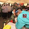 Panglima TNI dan Kapolri Tinjau Langsung Pelaksanaan Vaksinasi Prajurit TNI dan Personil Polri di  Polda Kepri