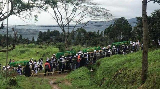 Sedang Berlangsung, Pagi Ini 6 Jenazah Laskar FPI Dimakamkan di Megamendung Bogor