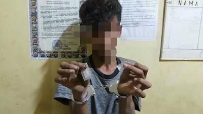 GAWAT, Remaja 14 Tahun di Sergai Ditangkap Miliki Sabu