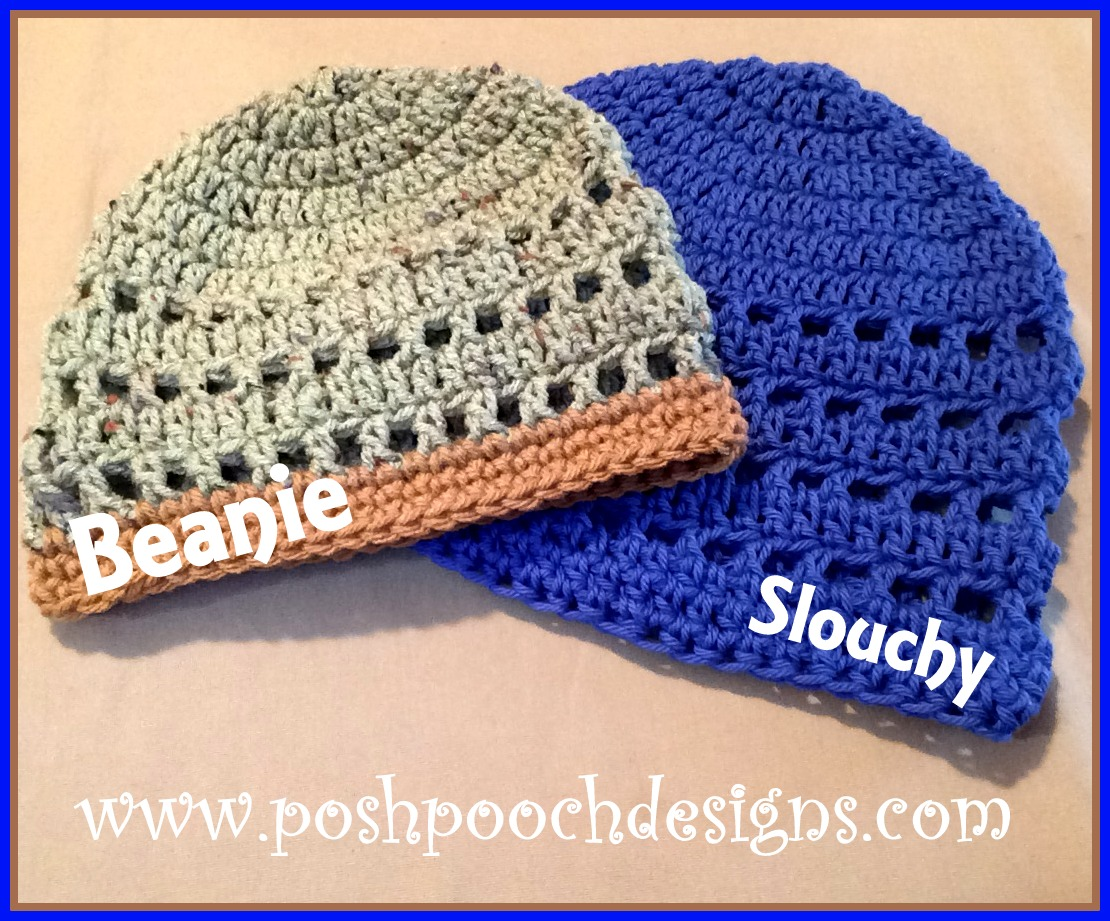 Posh Pooch Designs Dog Clothes Mens Summer Beanie Crochet Pattern