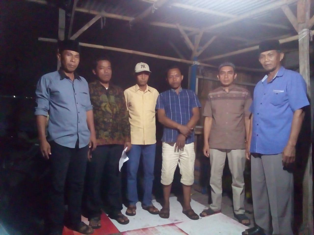 Warga Kampung Malang Kukuhkan Tim Relawan Kemenangan Juni Acing