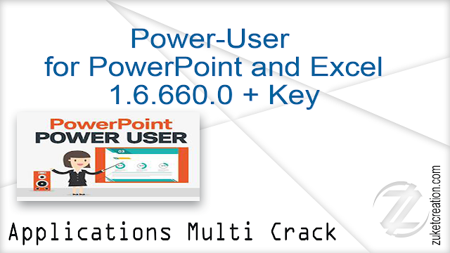 Power-User for PowerPoint and Excel 1.6.660.0 + Key    |  78 MB