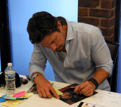 Michael Trucco signing autographs at Shore Leave 38 - Sunday, July 17, 2016