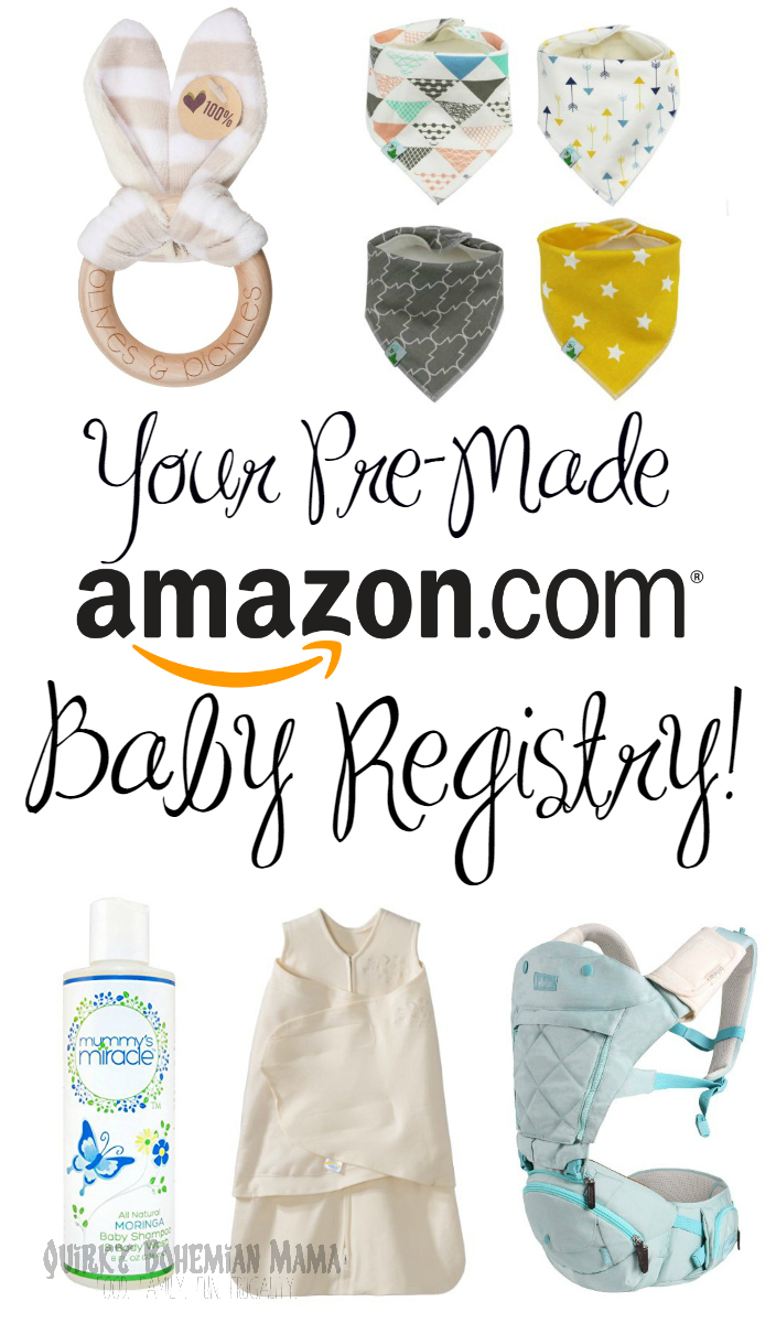 Your Pre Made Amazon Baby Registry! {Natural, Affordable, Unisex Baby  Items, Baby Registry Checklist}