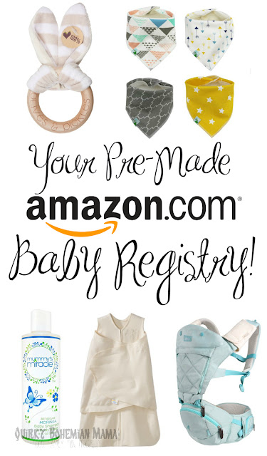 Baby registry checklist, unisex baby items, gender neutral baby clothes, Amazon baby registry, what to put on baby registry, bohemian baby, hippie baby, hippie   mom baby registry, natural newborn products. Baby registry essentials.