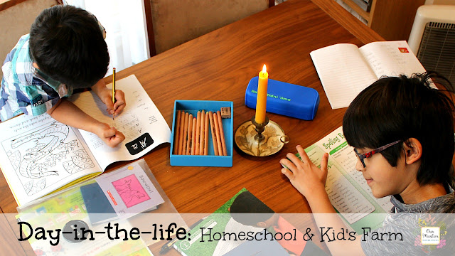 Muslim Homeschool Day in the Life