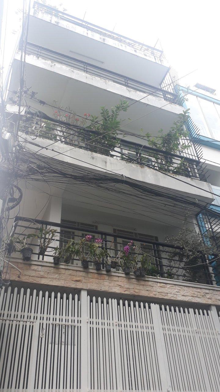Bán nhà Hẻm xe hơi đường Thành Thái phường 14 Quận 10. DT 5,07x13,5m (nở hậu)