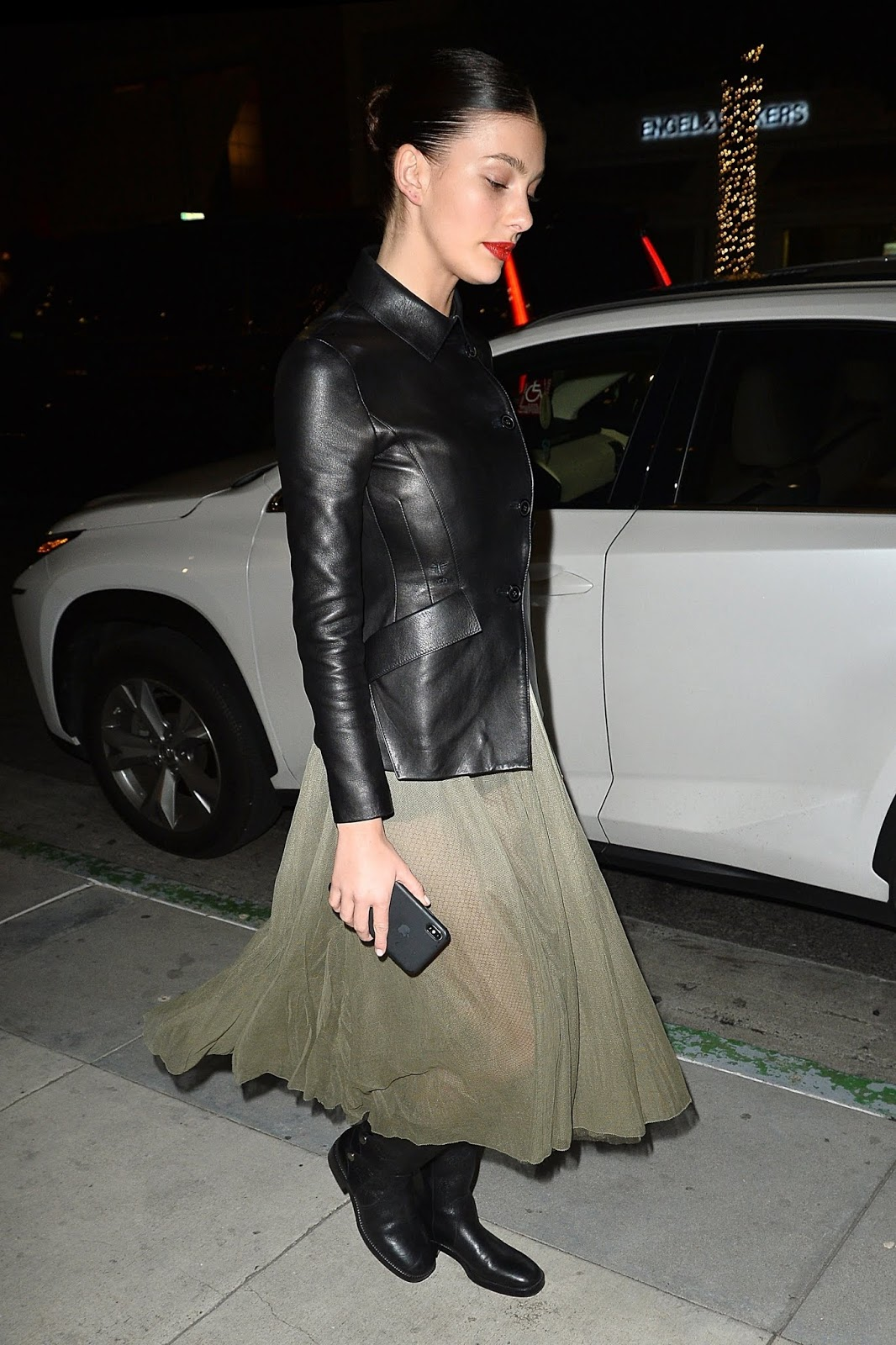 Camila Morrone leaves Madeo in West Hollywood - 02/08/2019