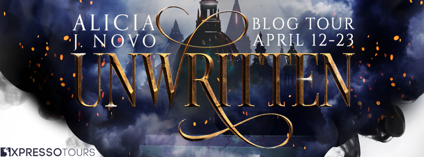 Unwritten Blog Tour Alicia J. Novo Young Adult Fantasy Book Giveaway