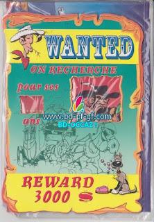 Lucky Luke, Wanted, Jesse James, 2001