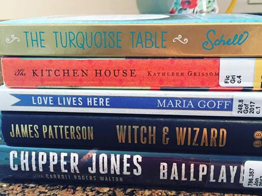 July's Book Stack
