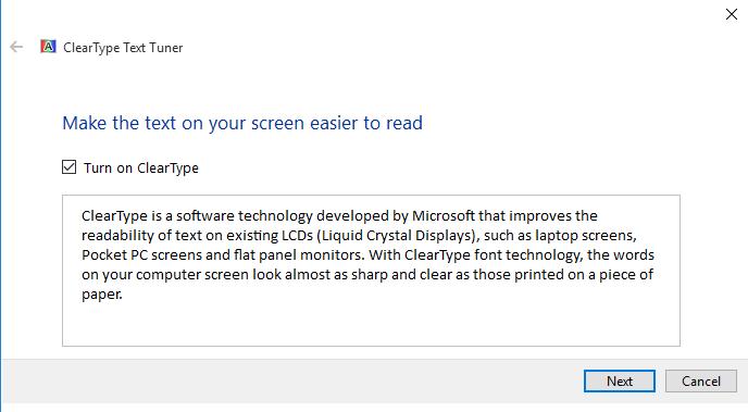 Fix for Windows 10 Blurry Font (Text) Problem - ASP NET,C# NET,VB