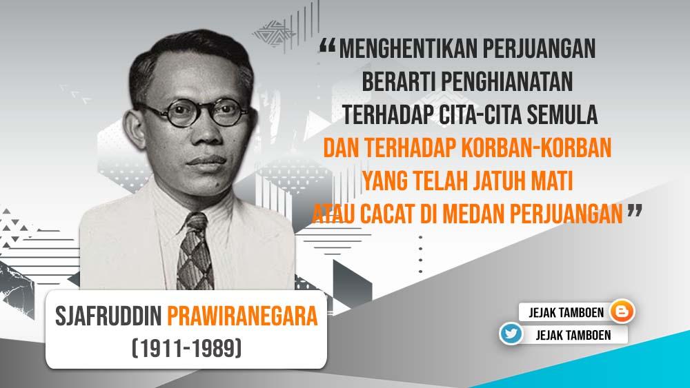 biografi syafruddin prawiranegara singkat Biografi Sejarah Syafruddin Prawiranegara (Presiden PDRI)