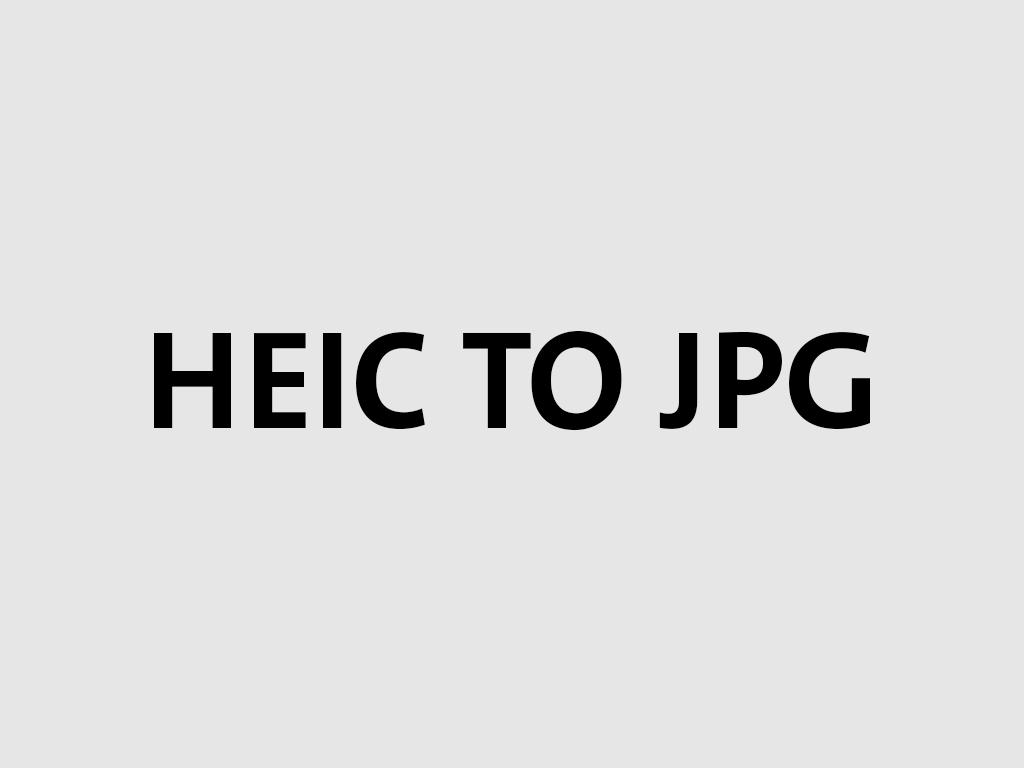 طريقة تحويل صيغة heic الي jpg بسهولة علي الويندوز - heic to jpg