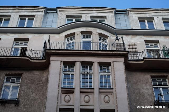 Warszawa Warsaw kamienica Śródmieście architektura Edward Eber