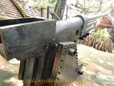 '6-inch breech loading gun' dipasang pada tahun 1941
