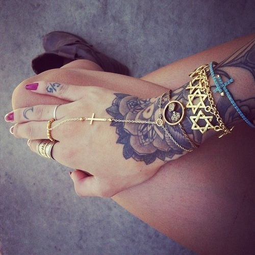 Side Hand Tattoo - Best Home Decorating Ideas