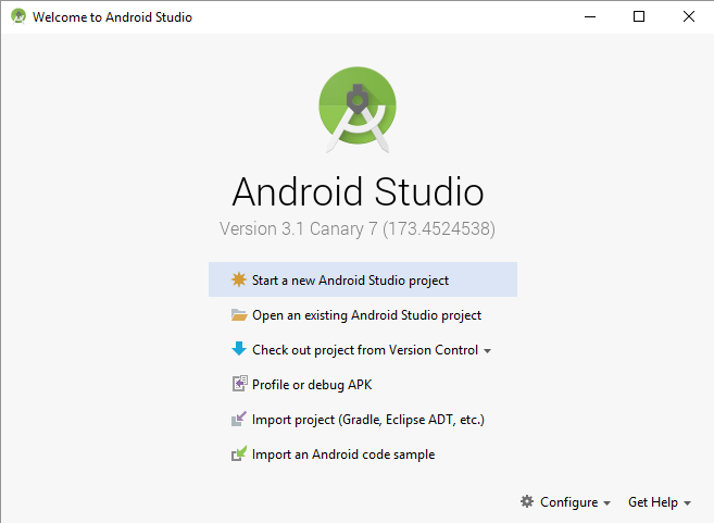 تنزيل برنامج اندرويد استوديو كامل Android Studio