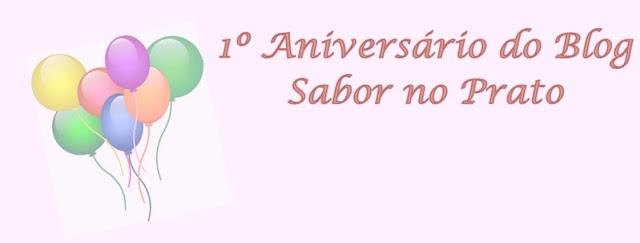Comemoração de Aniversário do blog