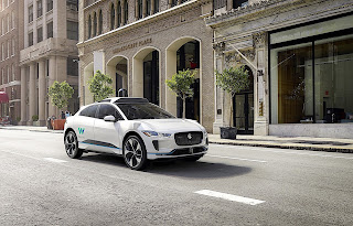 Waymo just released its new fleet of self-driving Jaguar I-Pace crossovers