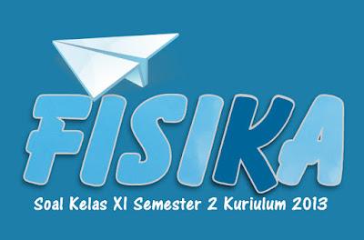 Selamat datang kembali sahabat Administrasi Ngajar Soal dan Pembahasan Fisika Kelas XI Semester 2 Kurikulum 2013