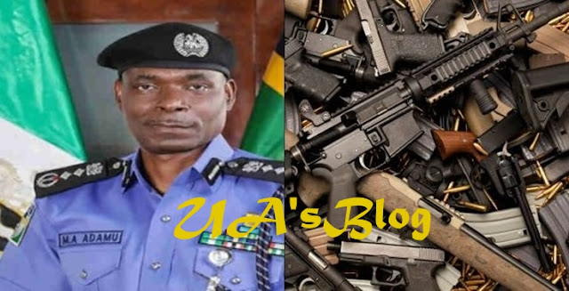 Wrong use of weapons will no longer be tolerated– Acting IGP, set to employ technology to replace use of weapons