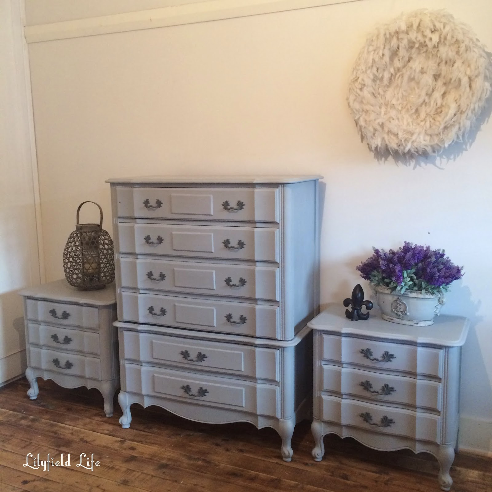 Lilyfield Life ASCP Paris Grey French Style Bedroom Furniture