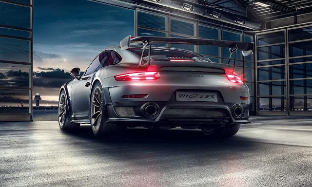 Porsche 911 GT2 RS Horsepower