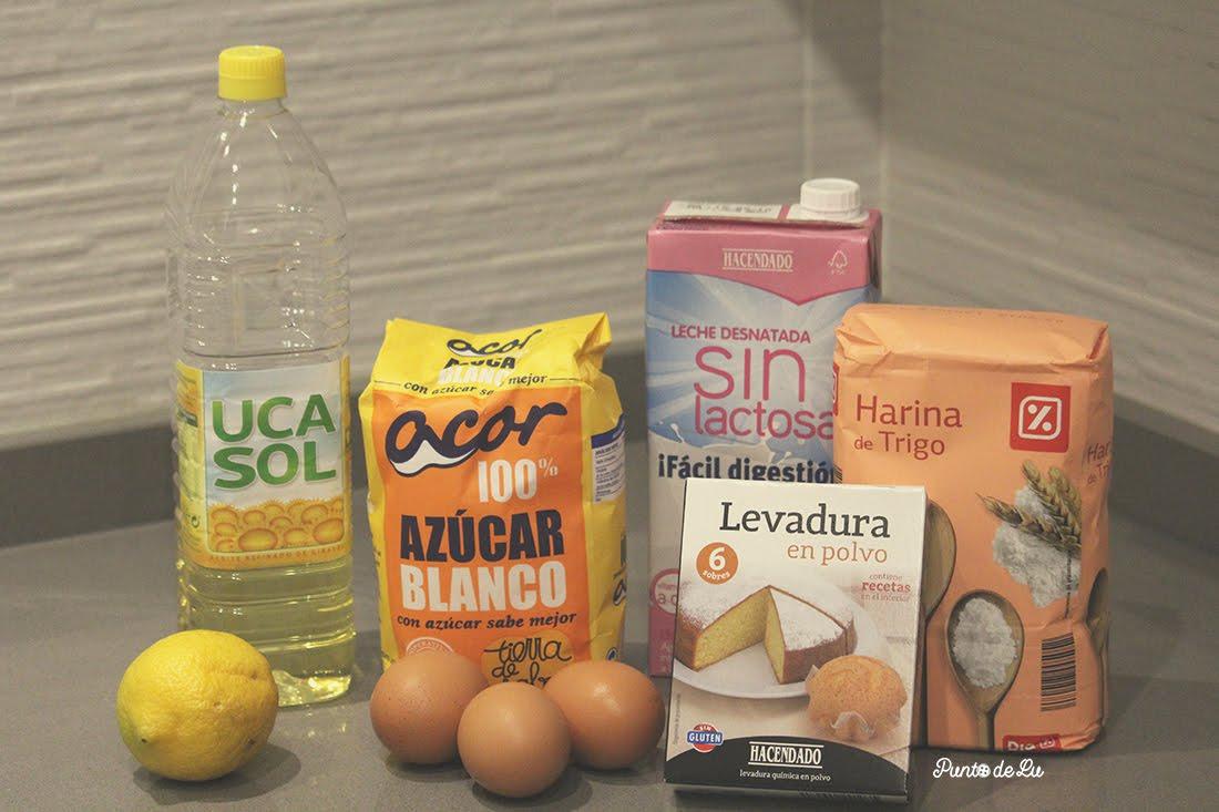 Receta para hacer un bizcocho esponjoso Ingredientes