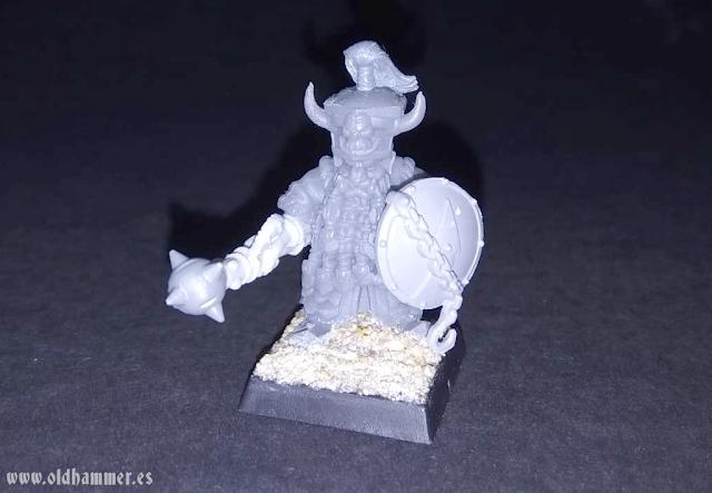 Chaos Dwarf Conversion Enano del Caos Infernal Dwarf Norba Miniatures
