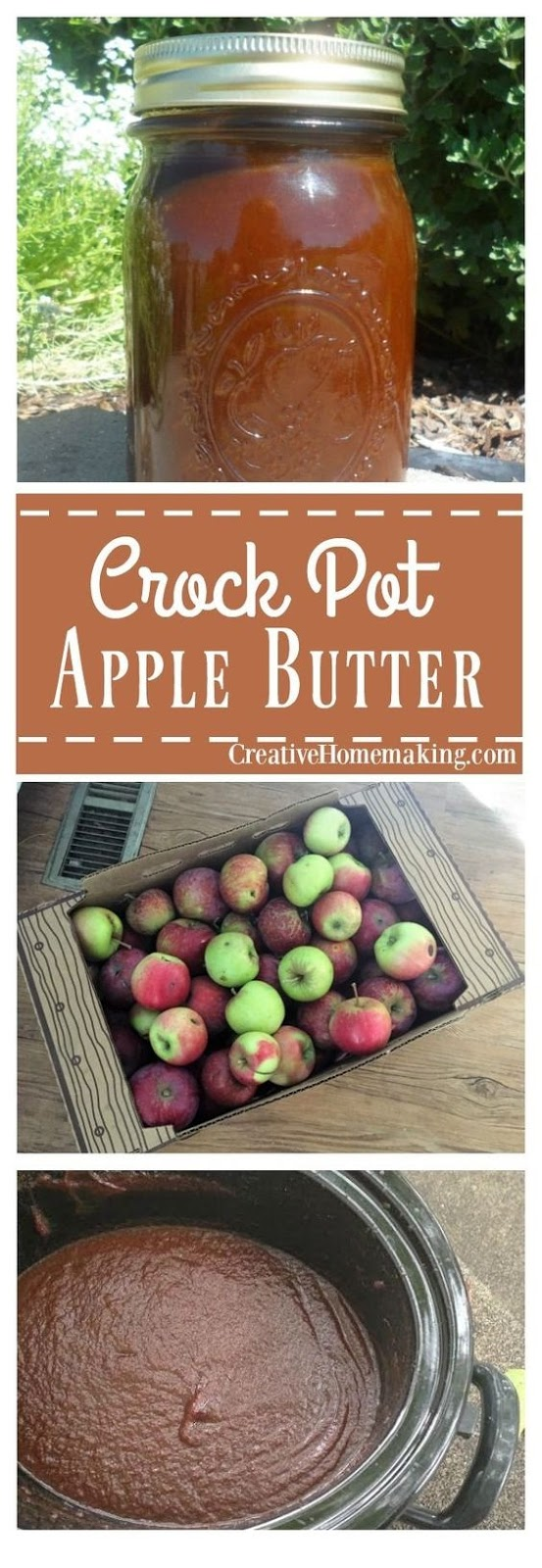 Crock Pot Apple Butter Recipe