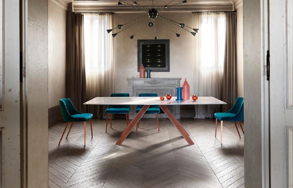 tavolo da pranzo rettangolare KI di Ronda Design