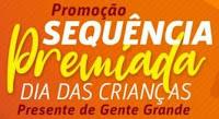 Promoção Sequencia Premiada Dia das Crianças 104.3 Digital FM