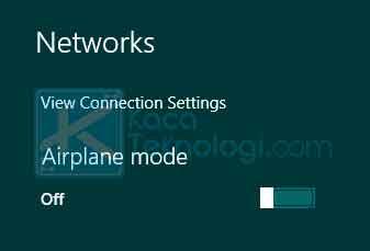 Klik ikon internet / Wi-Fi yang terdapat di pojok kanan bawah. Pada bagian atas ubah slider menjadi ON.