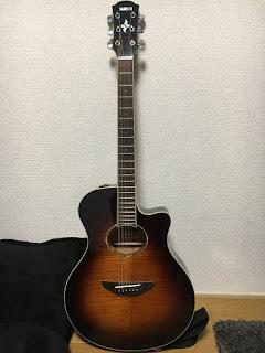 YAMAHA-APX600のエレアコ