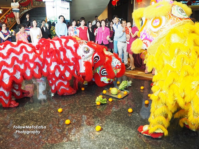 Eastin Hotel Kuala Lumpur Lion Dance Performance To Celebrate  the Year of the  Rooster 2017