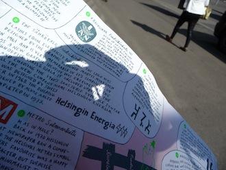 Walk Finland Helsinki Font Walk